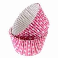 Košíčky růžové 12ks