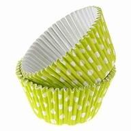 Košíčky zelené 12ks