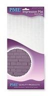 Otiskovací podložka na dort Brick Design