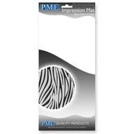 Otiskovací podložka na dort Bold Zebra Design