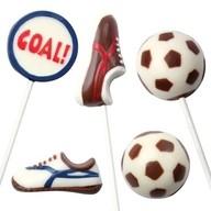 Fotbal formy na čokoládu 5 motivů