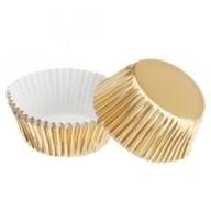 Košíčky Wilton zlaté 24 ks