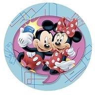Jedlý papír Mickey a Minnie 21cm