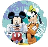 Jedlý papír Mickey a Goofy 21cm