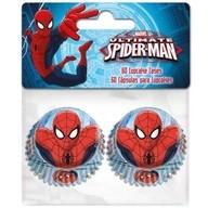 Košíčky Spiderman mini 60 ks