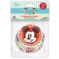Košíčky Mickey Mouse 60 ks