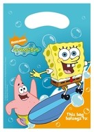 SpongeBob Surfing taška 6ks 16cm x 23cm