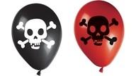 Balónky piráti 8ks 28cm