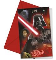 Star Wars pozvánky 6ks