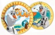 Olaf sněhulák party talíře 8ks 20cm