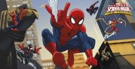 Spiderman dekorace 77cm x 150cm