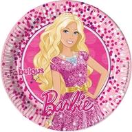 Barbie talíře 8ks 23cm