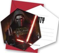 Star Wars pozvánky na party 6ks
