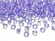 Diamanty světle fialové 1,2cm 100ks