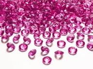 Diamanty růžové 1,2cm 100ks