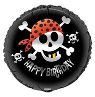 Foliový balonek pirat - narozeniny 45cm