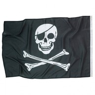 Piráti vlajka 92 cm x 60 cm