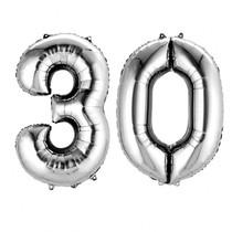 Balónky fóliové - čísla