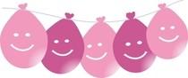 Balonky s potiskem visící