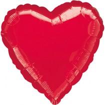 Srdíčko balónek fóliový