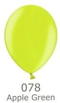 Balónky metalické - 078 APPLE GREEN