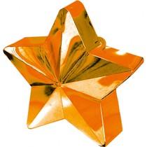 Závaží na balónky hvězda oranžová