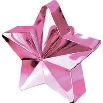 Závaží na balónky hvězda Pink