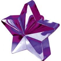 Závaží na balónky hvězda fialová