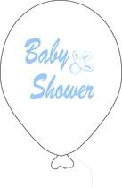 Baby Shower balónek bílý kluk