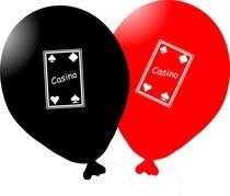 Casino balónky 5ks mix