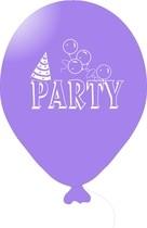 Balónky PARTY světlé fialové 1 ks