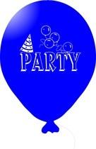 Balónky PARTY modré 1 ks