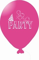 Balónky PARTY růžové 1 ks