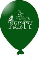Balónky PARTY tmavě zelené 1 ks