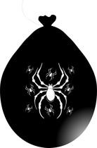 Balónek pavouk černý visící