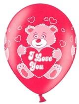 Balonek medvídek a srdíčka