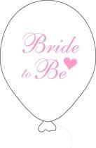 Bride to be balónek bílý