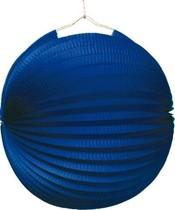 Lampion modrý 25 cm
