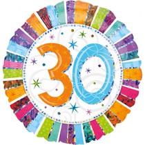 Balónek 30. narozeniny 42 cm