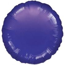 Balónek kruh Purple Metallic