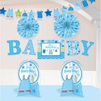 Baby Boy dekorace 10 ks