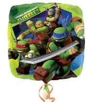 Želvy Ninja foliový balónek 45cm