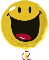 Smiley foliový balónek 45cm