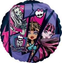 Monster High foliový balónek 45cm