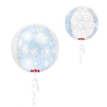 Vločka balónek 38 cm x 40 cm