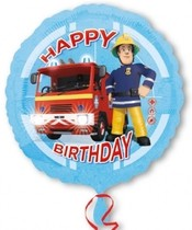 Požárník Sam balónek šťastné narozeniny 43 cm