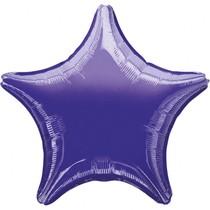 Hvězda Purple Metallic