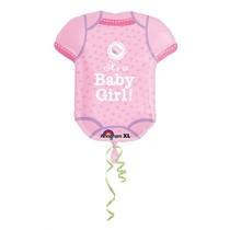 Dupačky Baby Girl balónek 60 cm x 55 cm