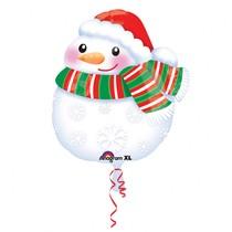 Sněhulák balónek 35 cm x 43 cm