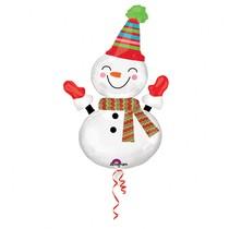 Sněhulák balónek 91 cm x 60 cm